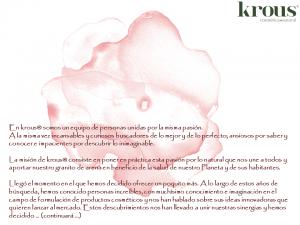 krous® cosmética+natural